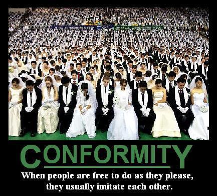 Varieties from Conformity