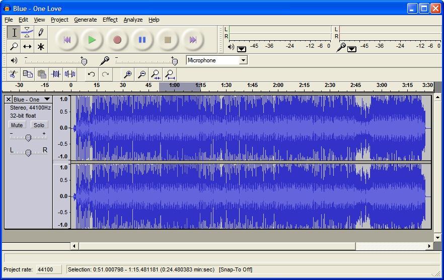 Audacity - Free Audio Editor