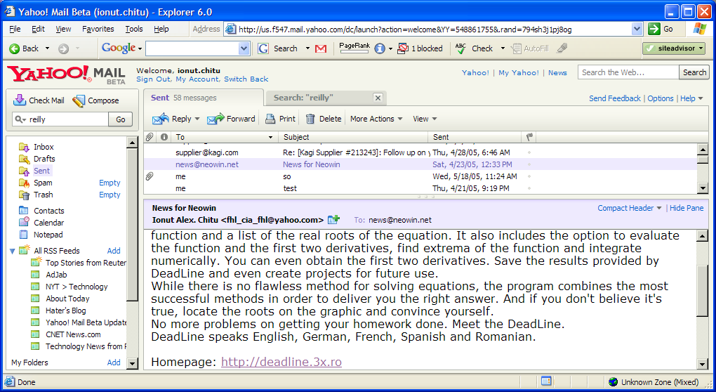 Yahoo Mail Beta Review