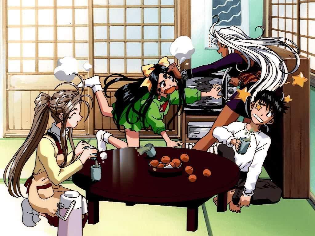 anime stuff: Oh My Goddess