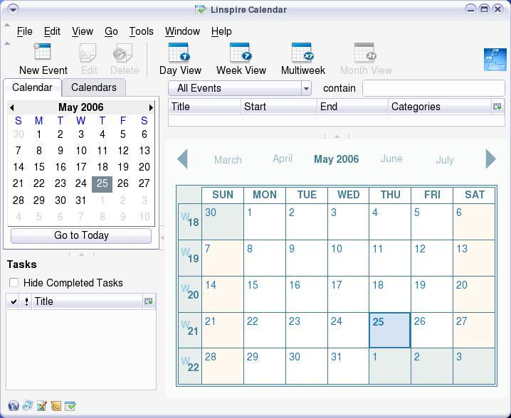 Linux Diaries: Linspire 5.0.54 Desktop & Program List