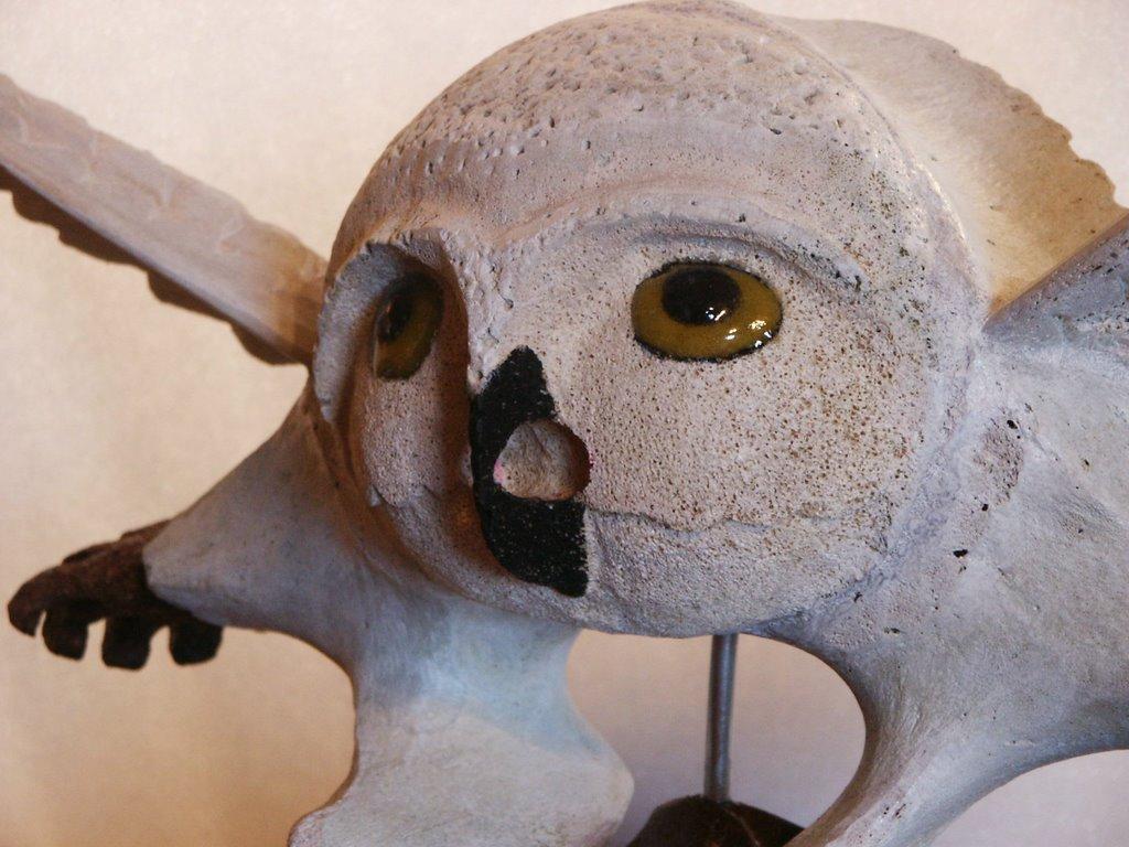 Qalayauq Inuit Art Double Sided Whale Bone Sculptures