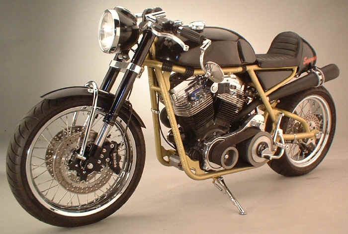 supermanx - the new breed of american cafe racer ~ return of the