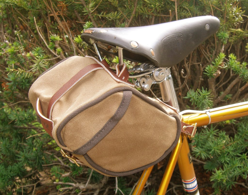 Velo Orange Saddle Bags are Here ($68)