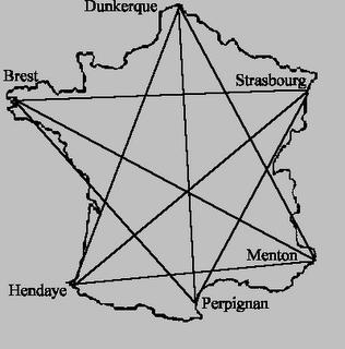 Note That The Six Points Speak Breton Flemish Alsatian Piedmontese Catalan And Basque Quel Hexagone