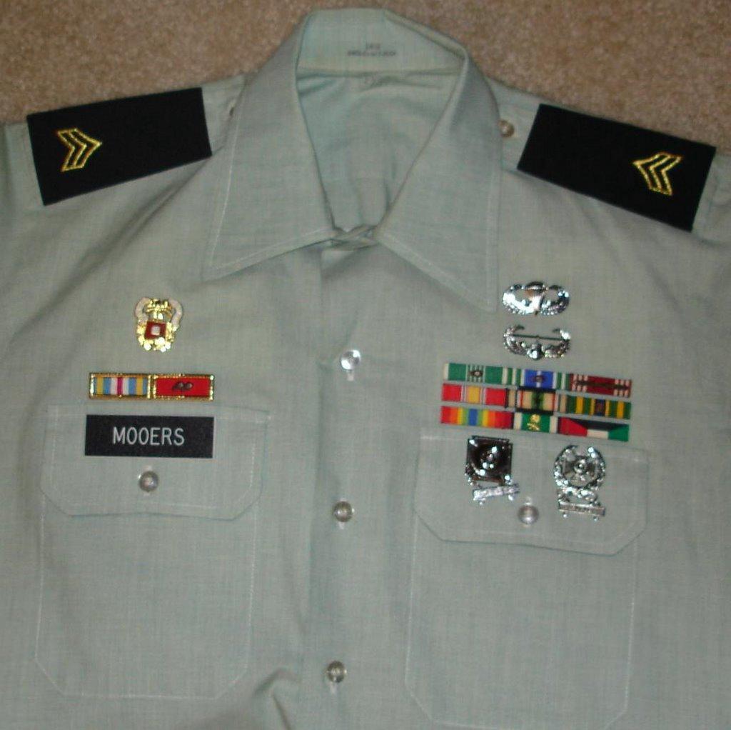 US Army Rack Builder Ribbon Checker - Uniform Ribbons
