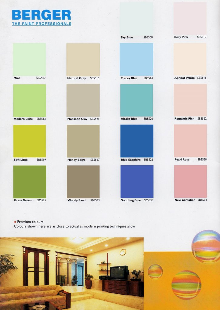 berger paint color book coloring page. Black Bedroom Furniture Sets. Home Design Ideas