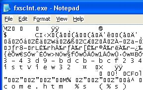 Ramesh Srinivasan's Blog: Exe files open with Notepad?