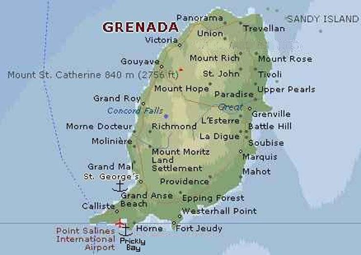 Caribbean Way Grenadathe Spice Island