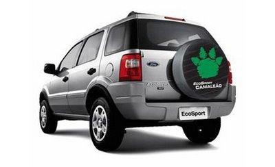 EcoSportCamaleao Ford apresenta Fiesta e EcoSport Camaleão