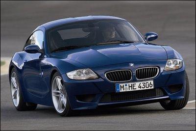 bmw_z4mc_01 BMW revela versão esportiva M do seu coupé Z4