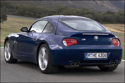 bmw_z4mc_02 BMW revela versão esportiva M do seu coupé Z4