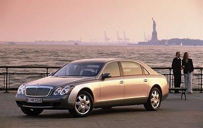 maybach Divulgada a lista dos carros mais caros do mundo!!