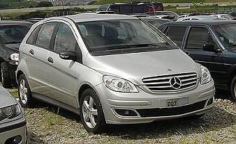 mb200-1.0 Mercedes Classe B - ainda não lançado no Brasil - flagrado em Interlagos