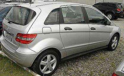 mb200-2.0 Mercedes Classe B - ainda não lançado no Brasil - flagrado em Interlagos