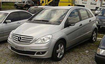 mb200-4 Mercedes Classe B - ainda não lançado no Brasil - flagrado em Interlagos