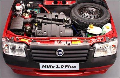 mille Motor Fiat Fire vai ganhar 10 cv de potência