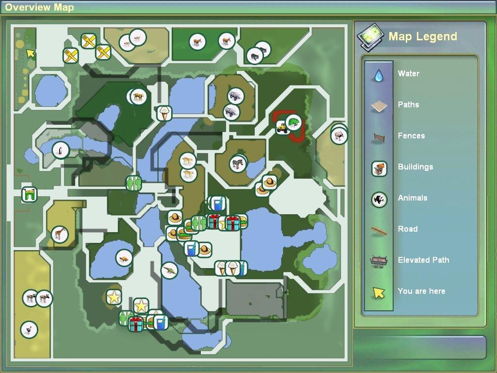 dog pack: zoo tycoon 2 zoo map