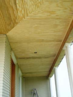 That S A Cute Little Farm House Front Porch Ceiling Progress