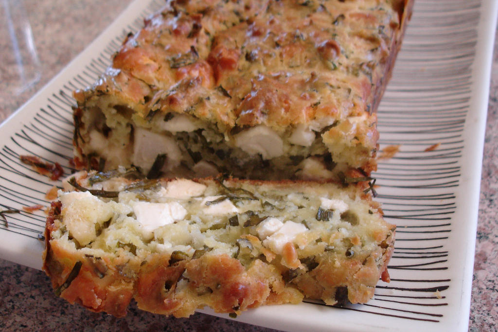 Cake Pesto Feta