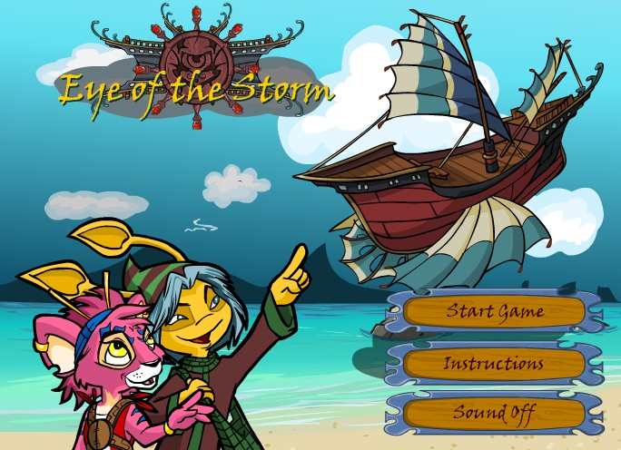 Me and My Neopets: Game Master Challenge: Eye of the Storm