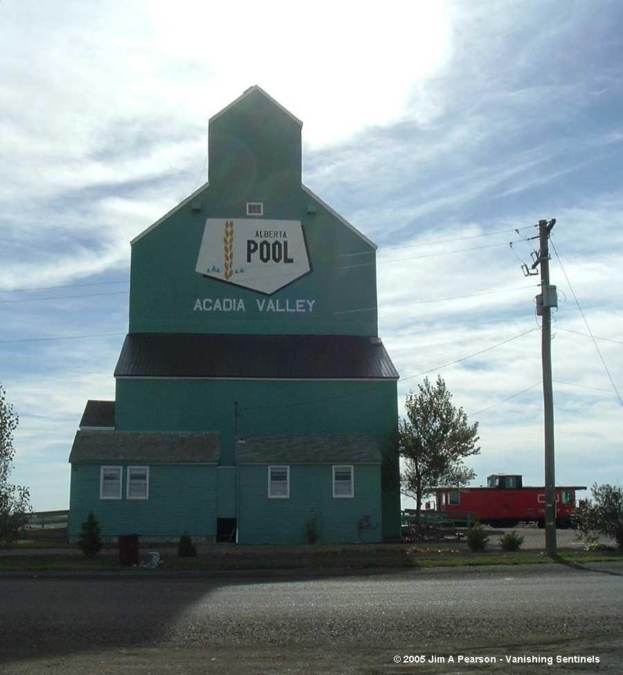 Vanishing Sentinels Grain Elevators Alberta Wheat Pool