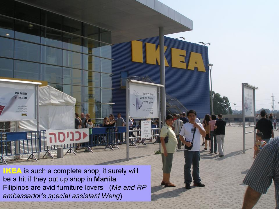 My Share of Sun in Israel: Ikea Israel - Shopping trip