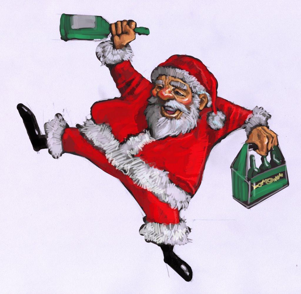 Agree, very drunk santa claus