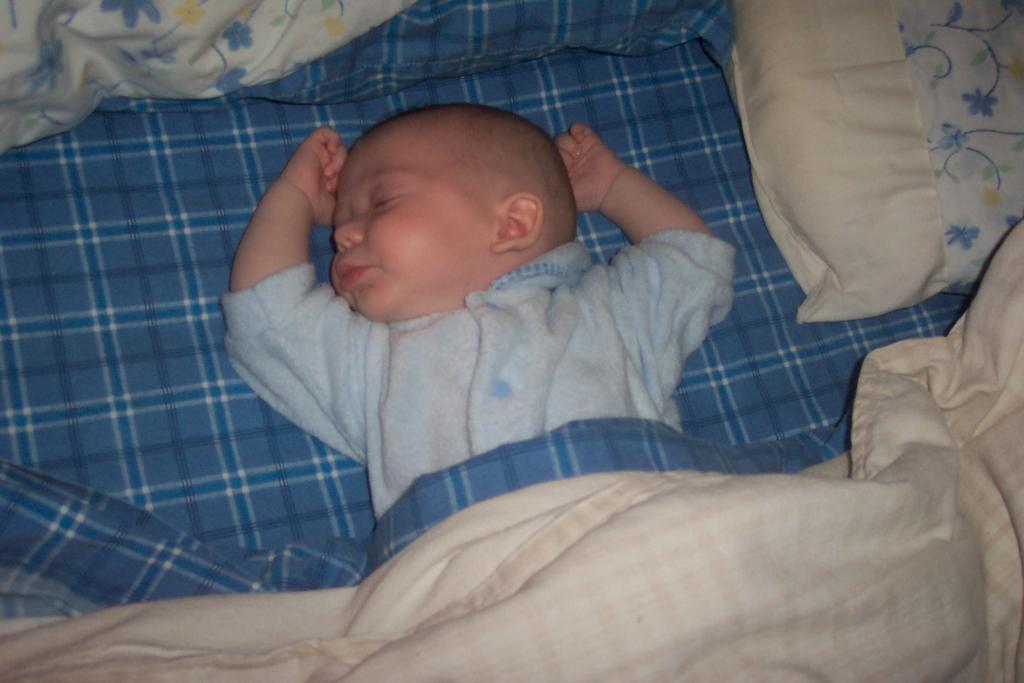 The Days Of Elijah Sleeping Just Like Daddy