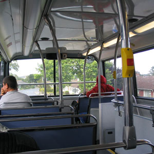 A view of the upper deck.
