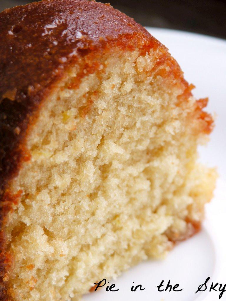 Georgia Apple Pound Cake
