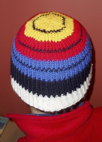Here s Target Beanie  1 — I ve used a twisted rib (all knit stitches are  knit through the back of the stitch f7016cdd419