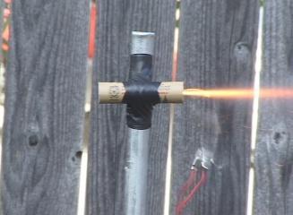 Matt's Model Rocketry: Estes B6-4 Model Rocket Engine Test