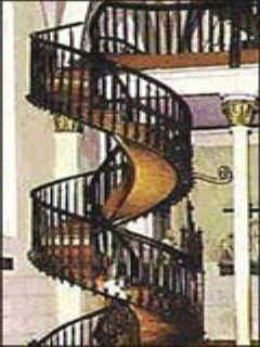 The Spiral Staircase Of Santa Fe A Miracle