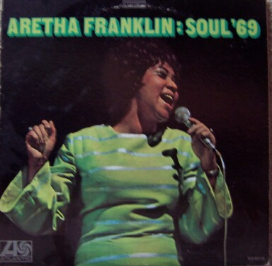 Aretha Franklin Soul '69 album cover