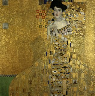 Klimt portrait of Adele Bloch-Bauer