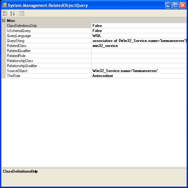 o\/\/ PowerShelled: PowerShell : WMI Support in RC2 (Series