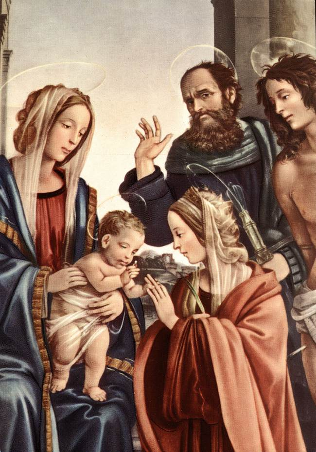 approved apparitions the visions of saint catherine of bologna