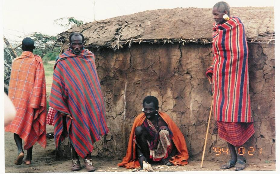blogtrotter revival the 90 s masai village