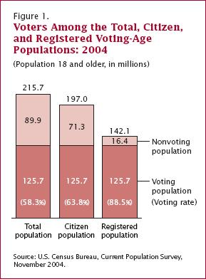 U.S. Voting Voters in 2004