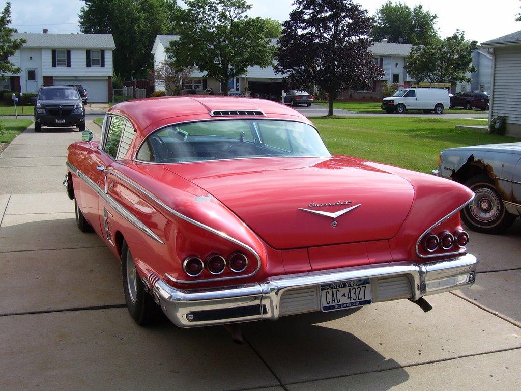 58 chevy impala for autos weblog. Black Bedroom Furniture Sets. Home Design Ideas