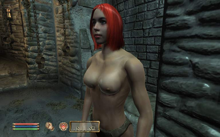 Oblivion cheat to make people naked