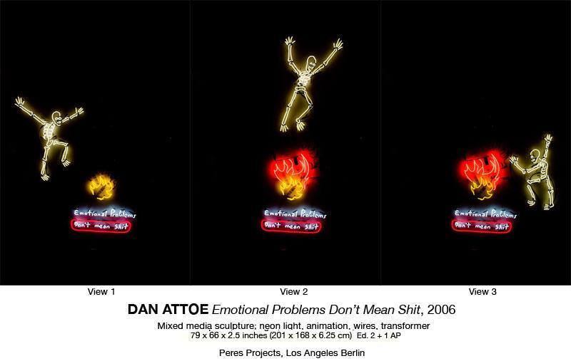 New neon works from Dan Attoe ! « Brask Art Blog