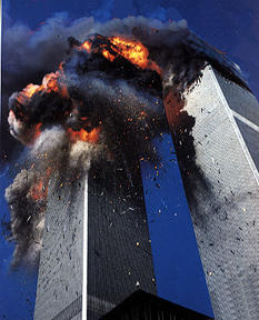 Attack on World Trade Centre by Terrorists