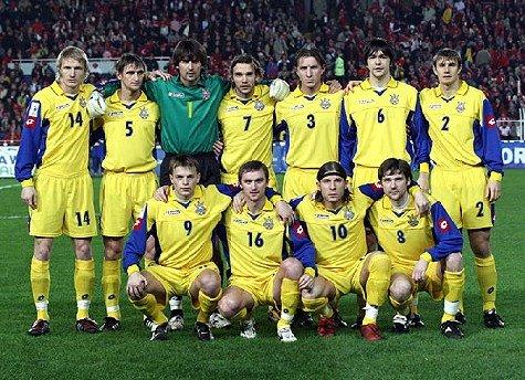 Mannschaft Ukraine