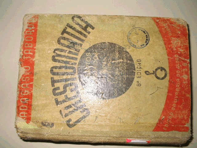 livro crestomatia