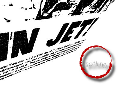 In Jet Nothing, Red Circle Fluxus by Revich