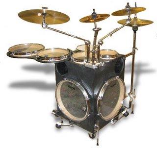 planet drum gigpig the smallest drum kit ever. Black Bedroom Furniture Sets. Home Design Ideas