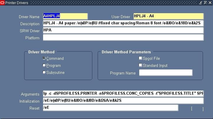 Printer Basics in Oracle Apps 11i - Oracle Trainings for Apps