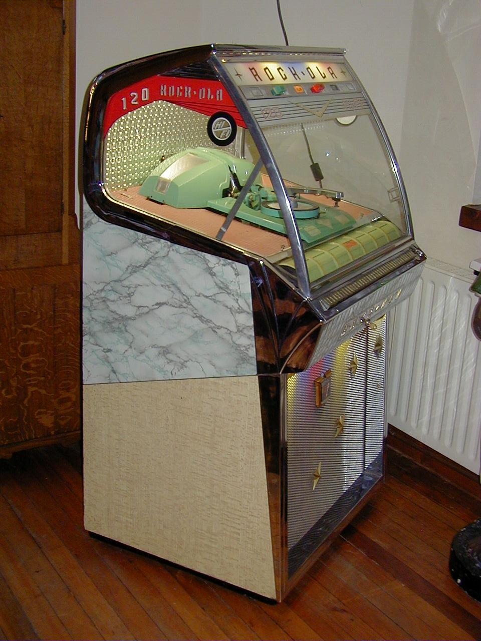 jukebox sale Wurlitzer,seeburg, rockola,ami,nsm: Fabulous fifties